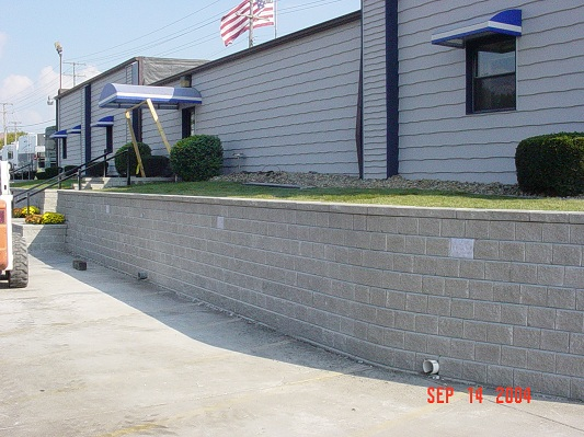 Completed Commercial Brickwork